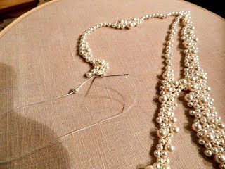 DIY Monogram Swarovski Pearls in a Frame (4)