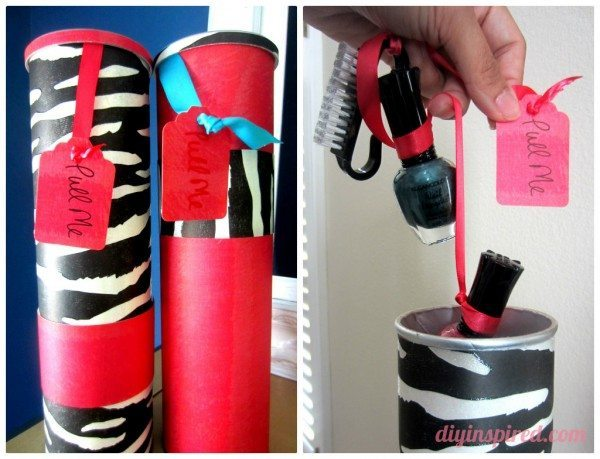 Recycled Pringles Can Gift Kits