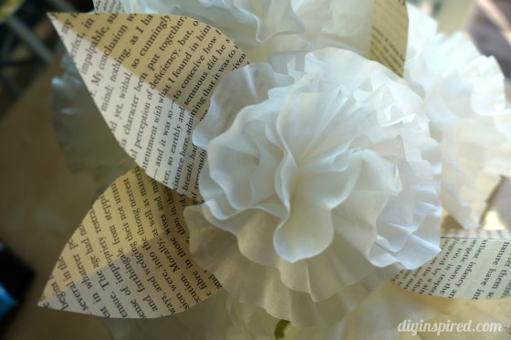 Easy Coffee Filter Paper Flowers