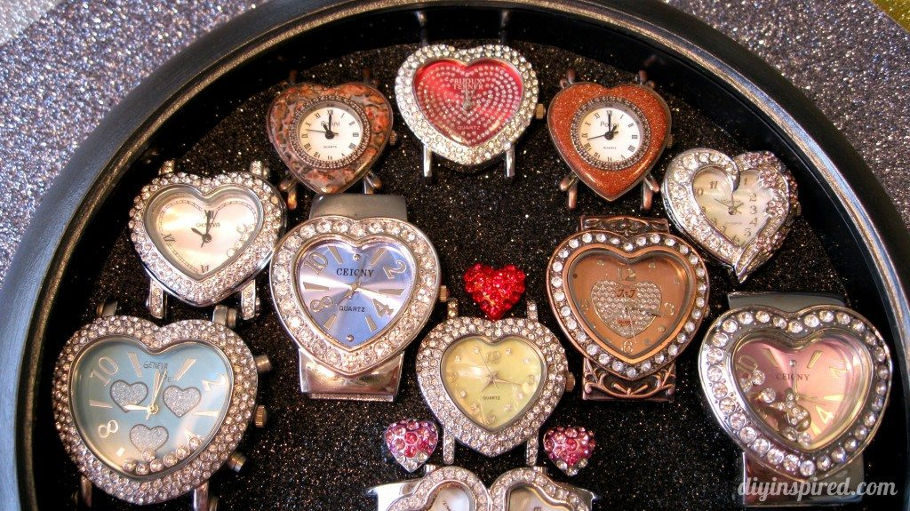 Recycled Clock Watch Display Case (2)