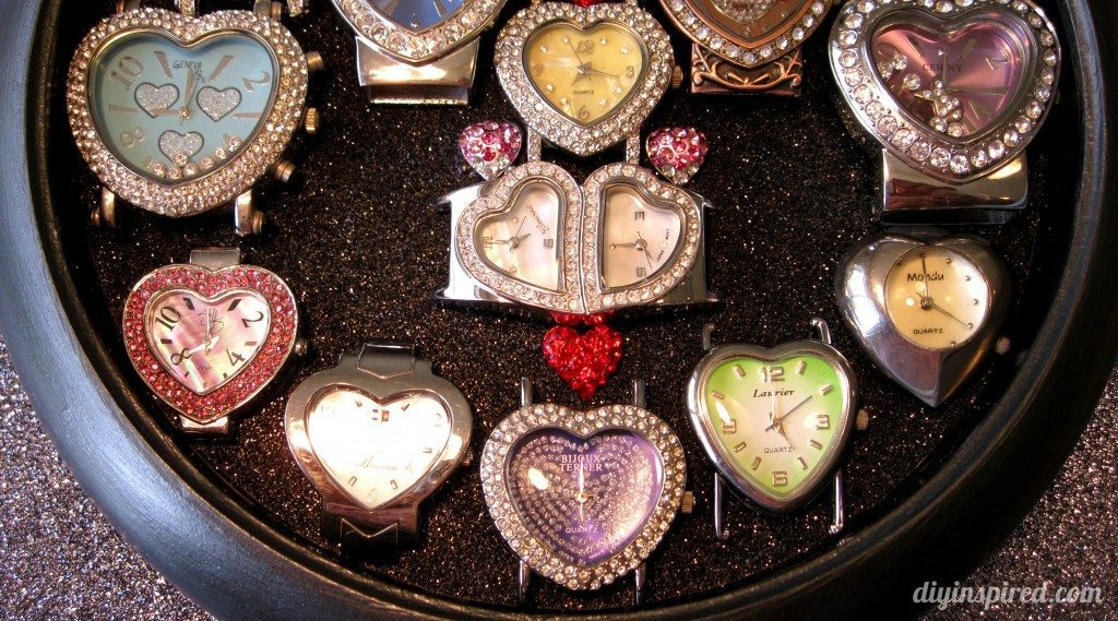 Recycled Clock Watch Display Case (3)