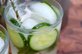 Cucumber Lemon Spritzer