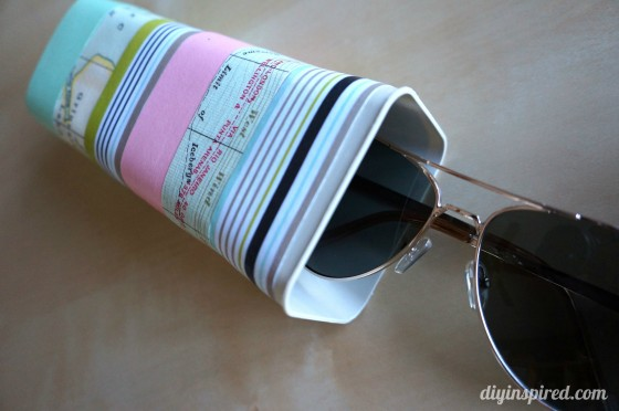 Drink Mix Container Drink Sunglasses Case