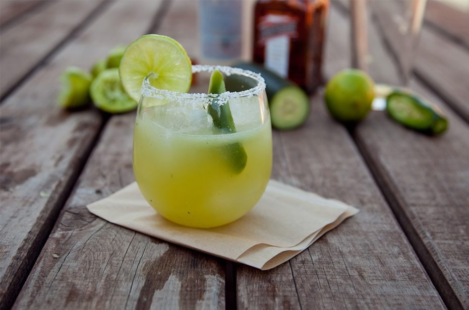 Jala-Piña Margarita Cocktail