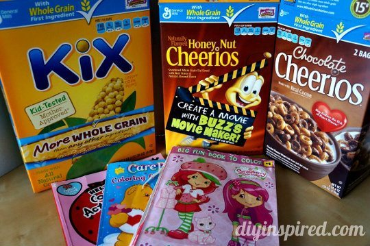 Recycled Kid's Craft: Cereal Box Puzzles