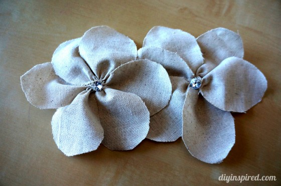 Tutorial for Fabric Flowers