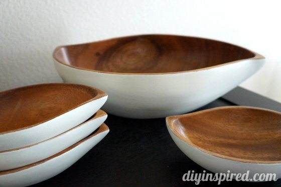 Upcycled Wooden Bowls