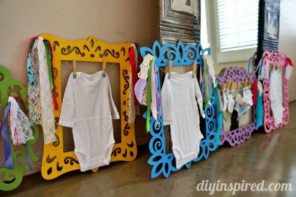 Fun and Easy Baby Shower Decorations » DIY Inspired