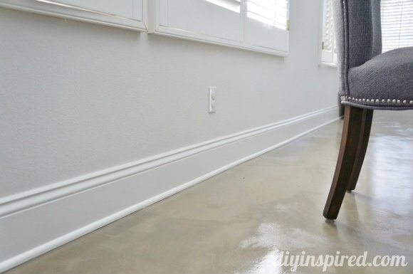 Our Cement Floors After