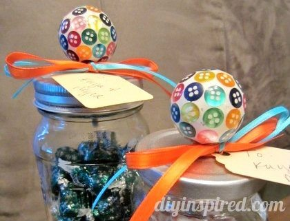 How to Make Candy Mason Jars