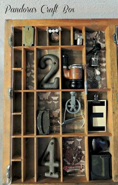 vintage-letterpress-tray-trinkets-shadow-box-table