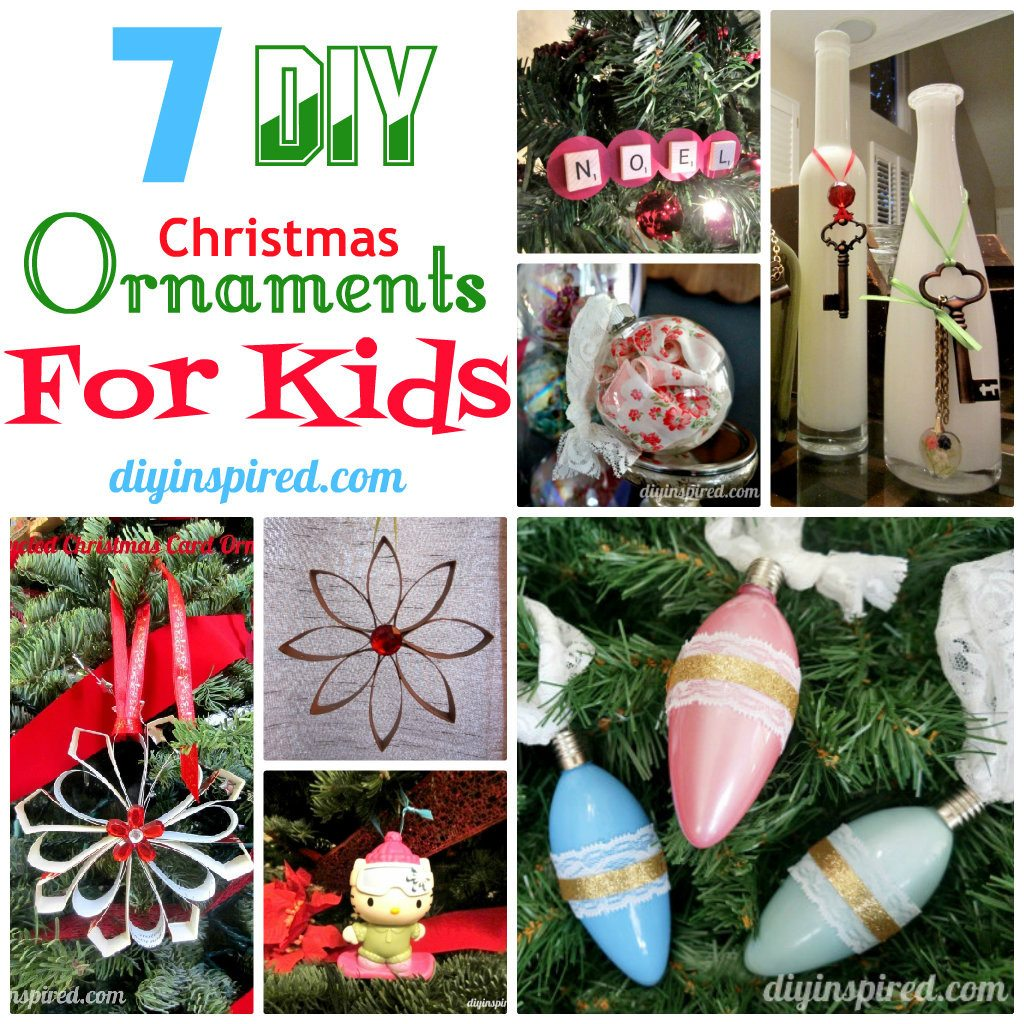 DIY Christmas Ornaments For Kids