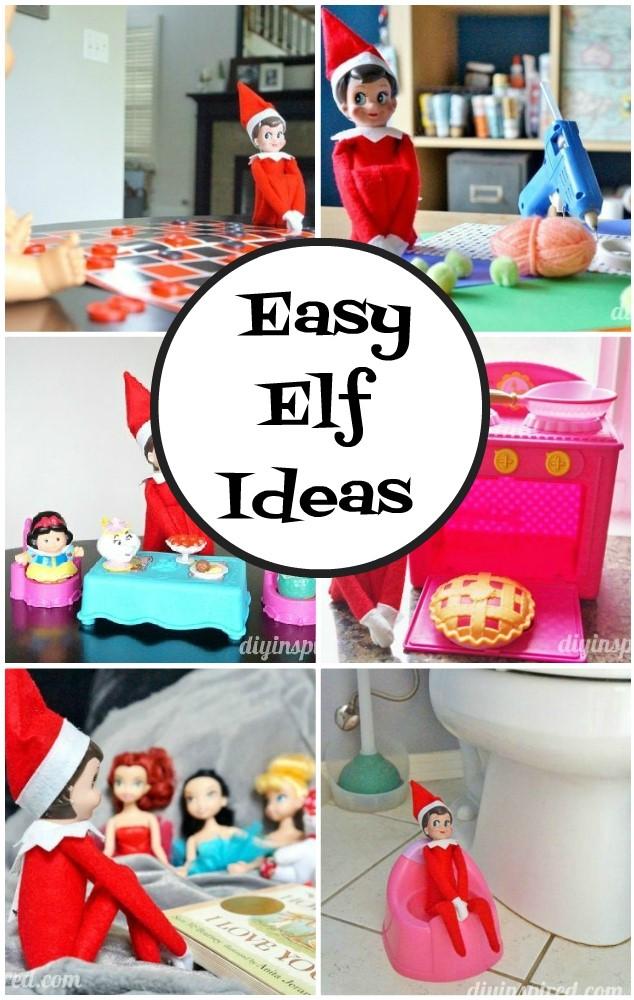 Easy Elf Ideas