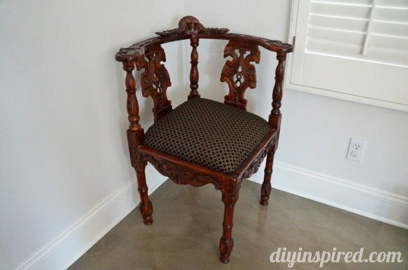 Antique Corner Chair Update