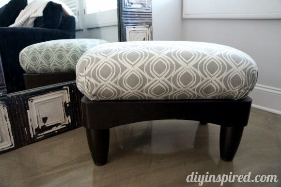 Another Ottoman Makeover
