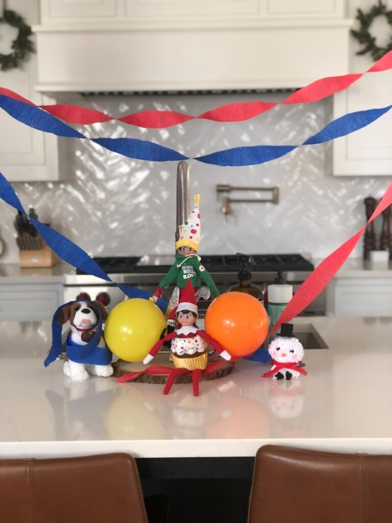 Elves Celebrating a Birthday