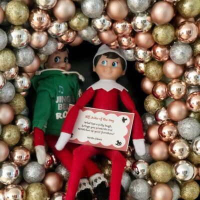 Two Dozen Easy Elf on a Shelf Ideas
