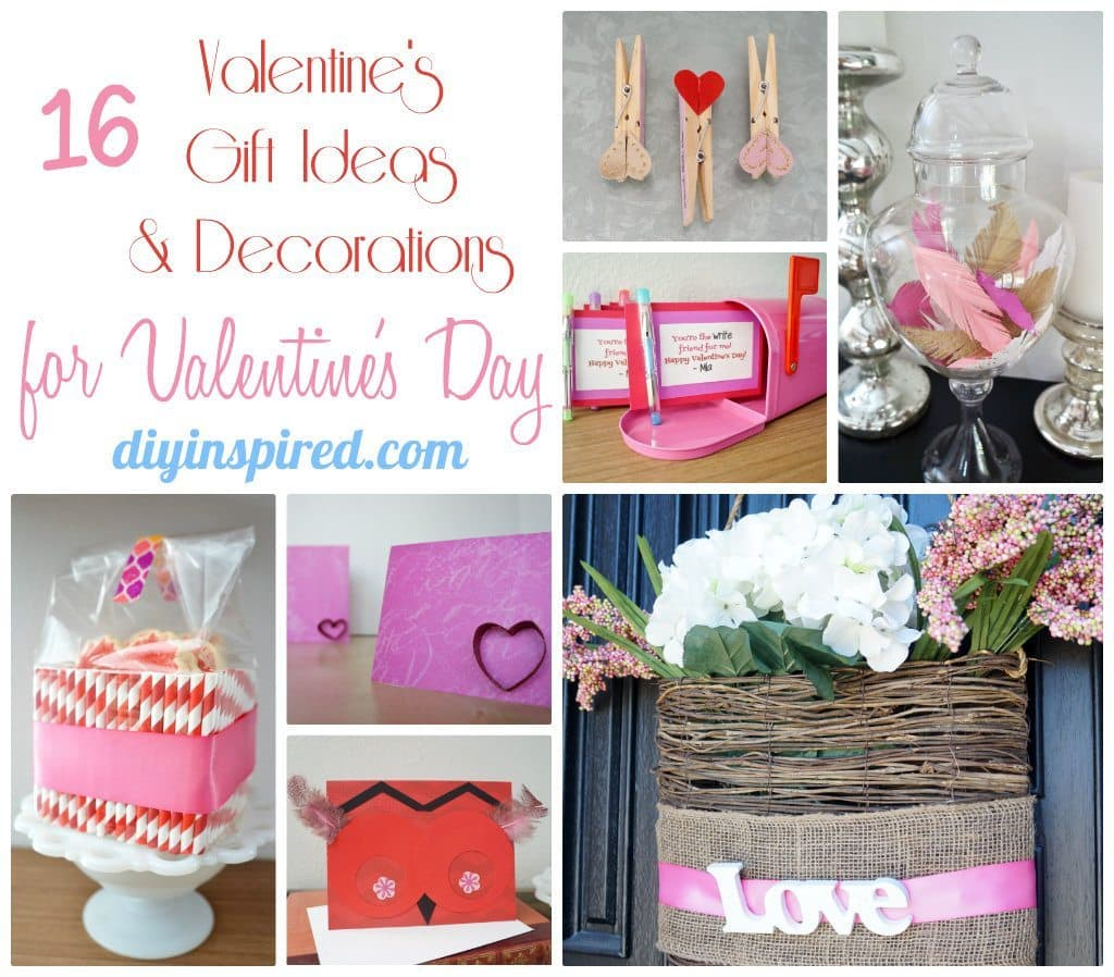 16 Valentines Gifts & Decorations for Valentine's Day