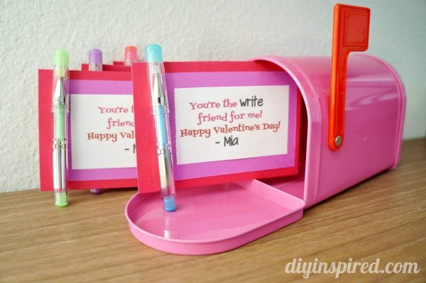 Easy Homemade Valentines for School