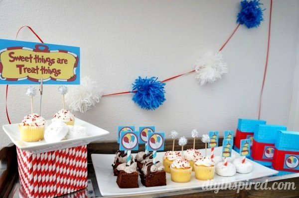 Dr. Seuss Inspired Party: FREE PRINTABLES