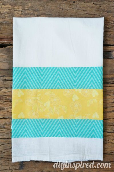 No Sew Easter Kitchen Towel