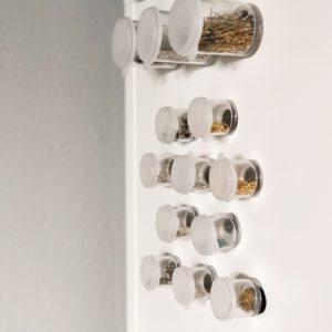 Easy Repurposed Craft Room Magnets