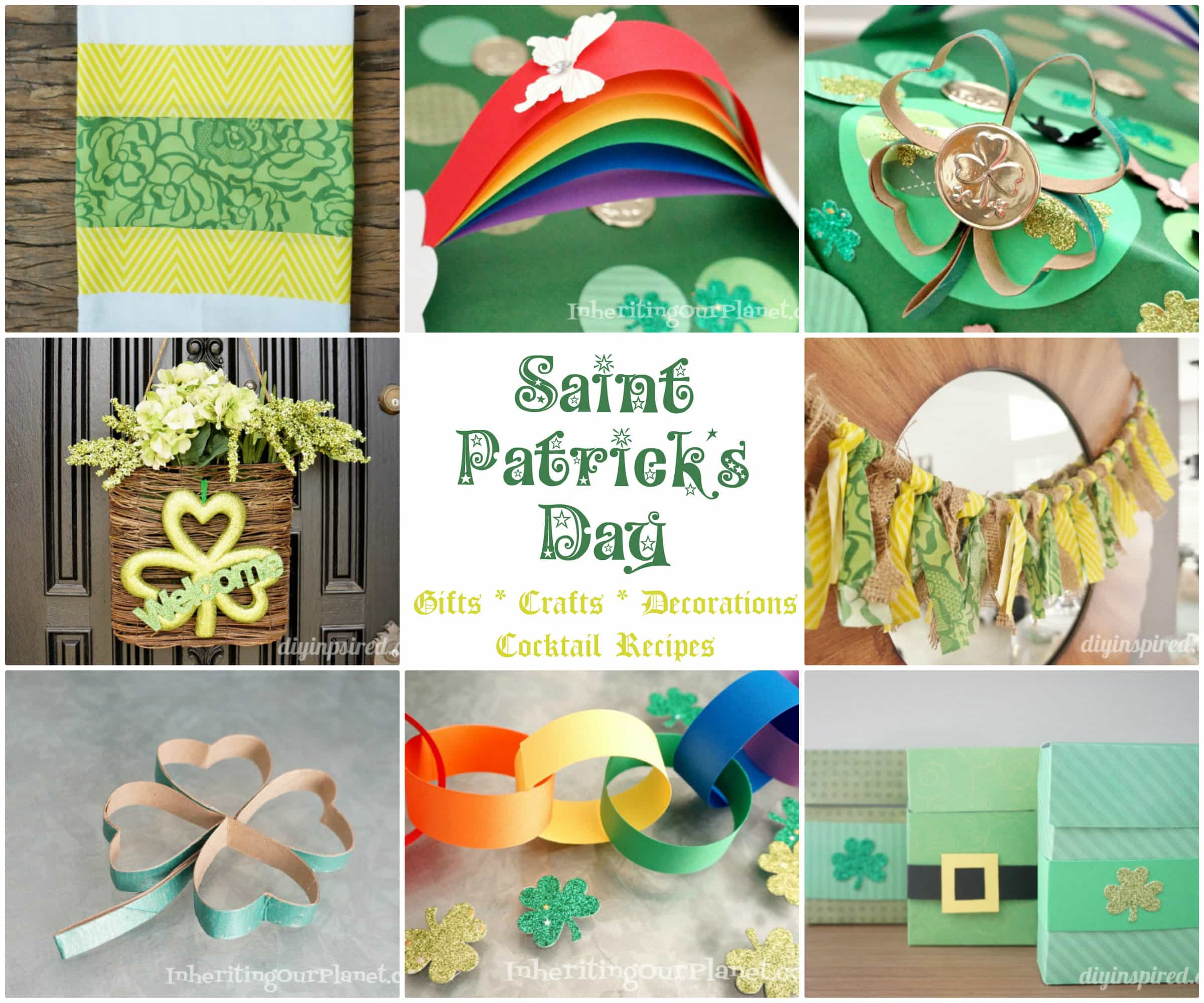 A Dozen St. Patrick's Day Ideas