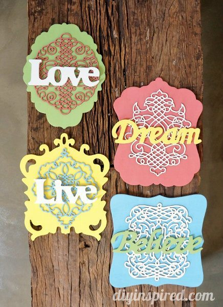 DIY Wooden Inspirational Signs