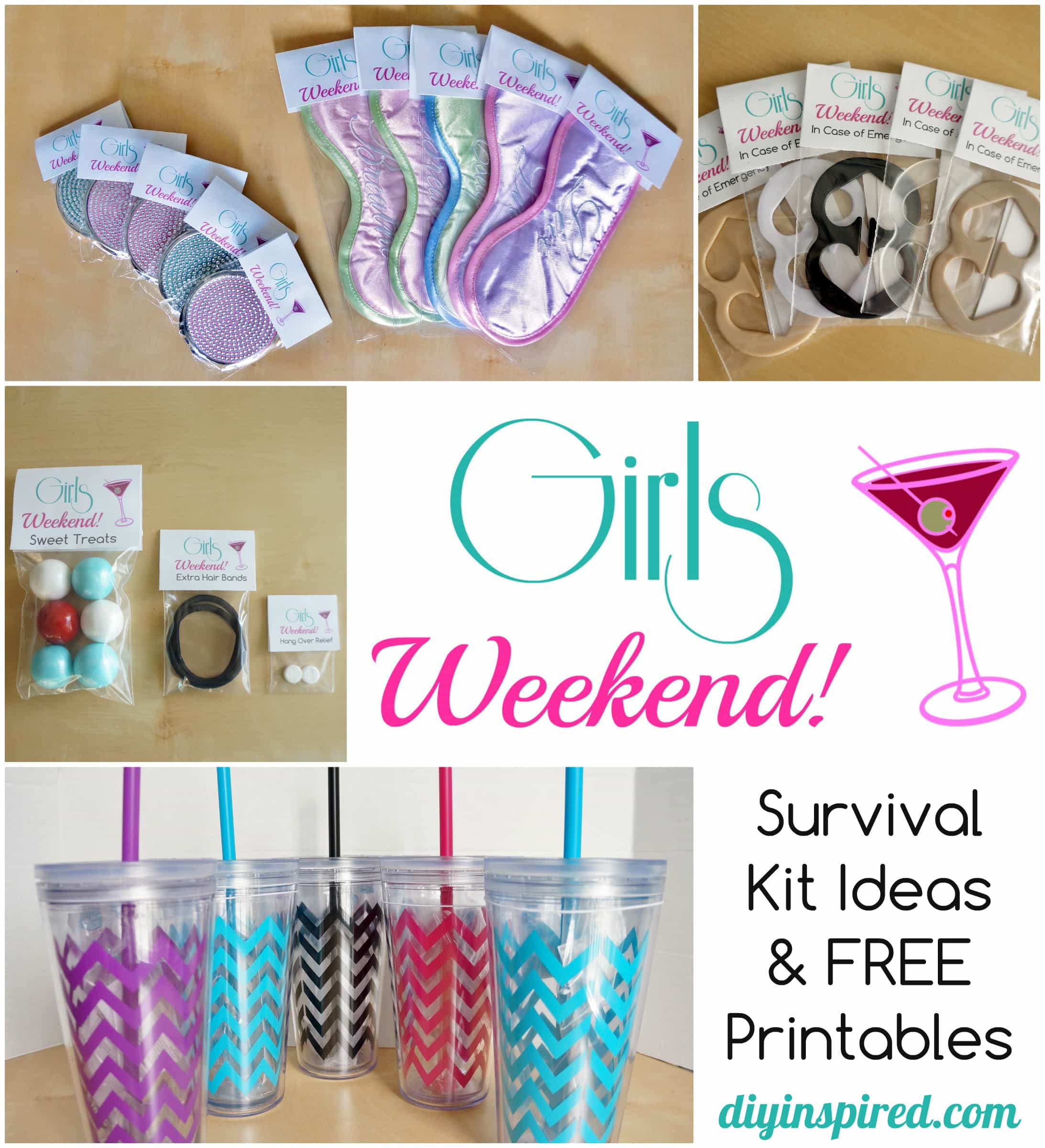 DIY Bachelorette Party Favor Ideas FREE Printable