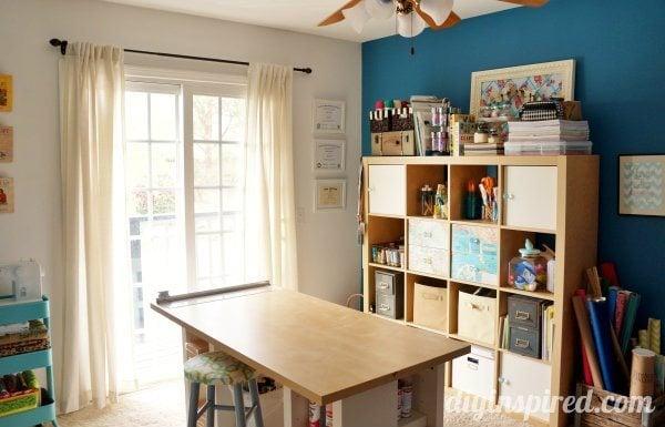 DIY Inspired Craft Room Tour
