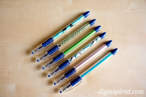 Easy DIY Personalized Pens Gift Idea