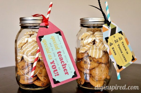 Cookie Mason Jar Teacher Appreciation Gifts