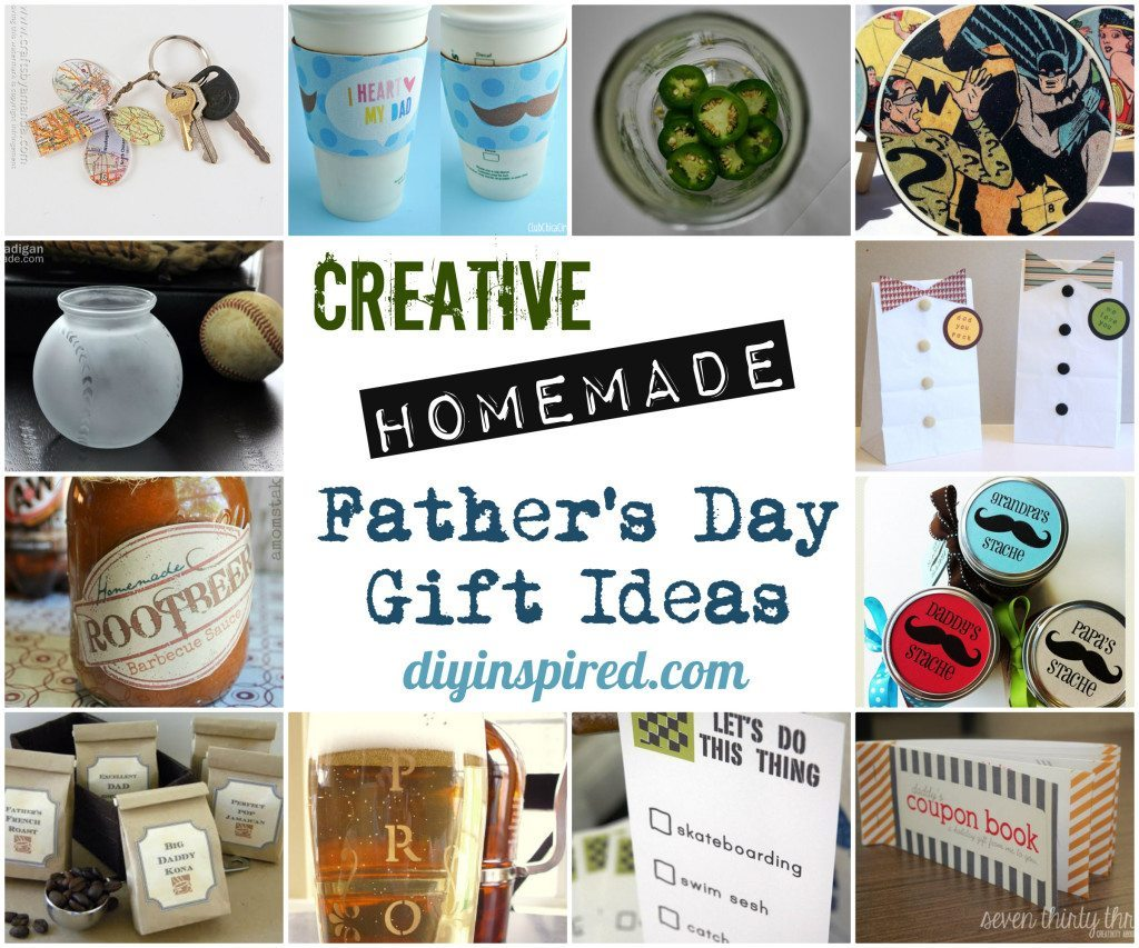 Creative Homemade Fathers Day Gift Ideas
