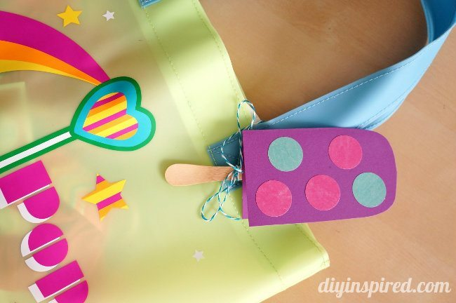 Easy Popsicle DIY Gift Tags