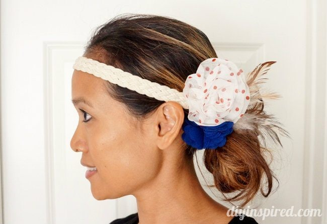 easy red white and blue head piece (2)