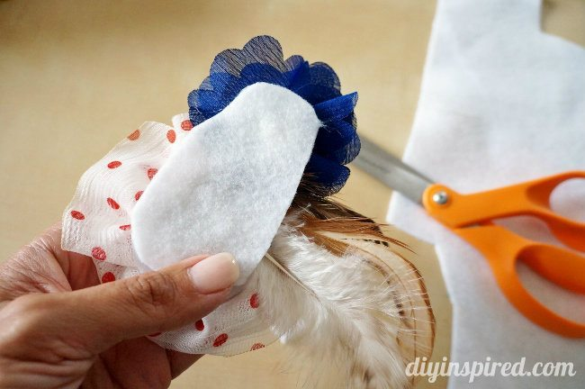 easy red white and blue head piece (3)