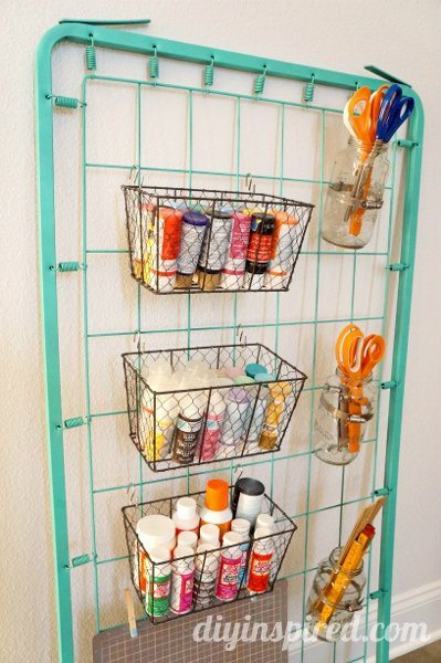 repurposed-bed-spring-craft-storage (5)