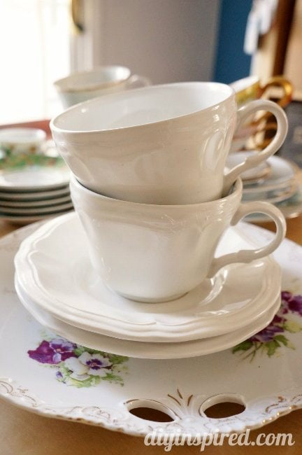 tea party tea cups