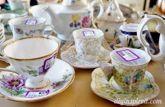 thrift store teapots