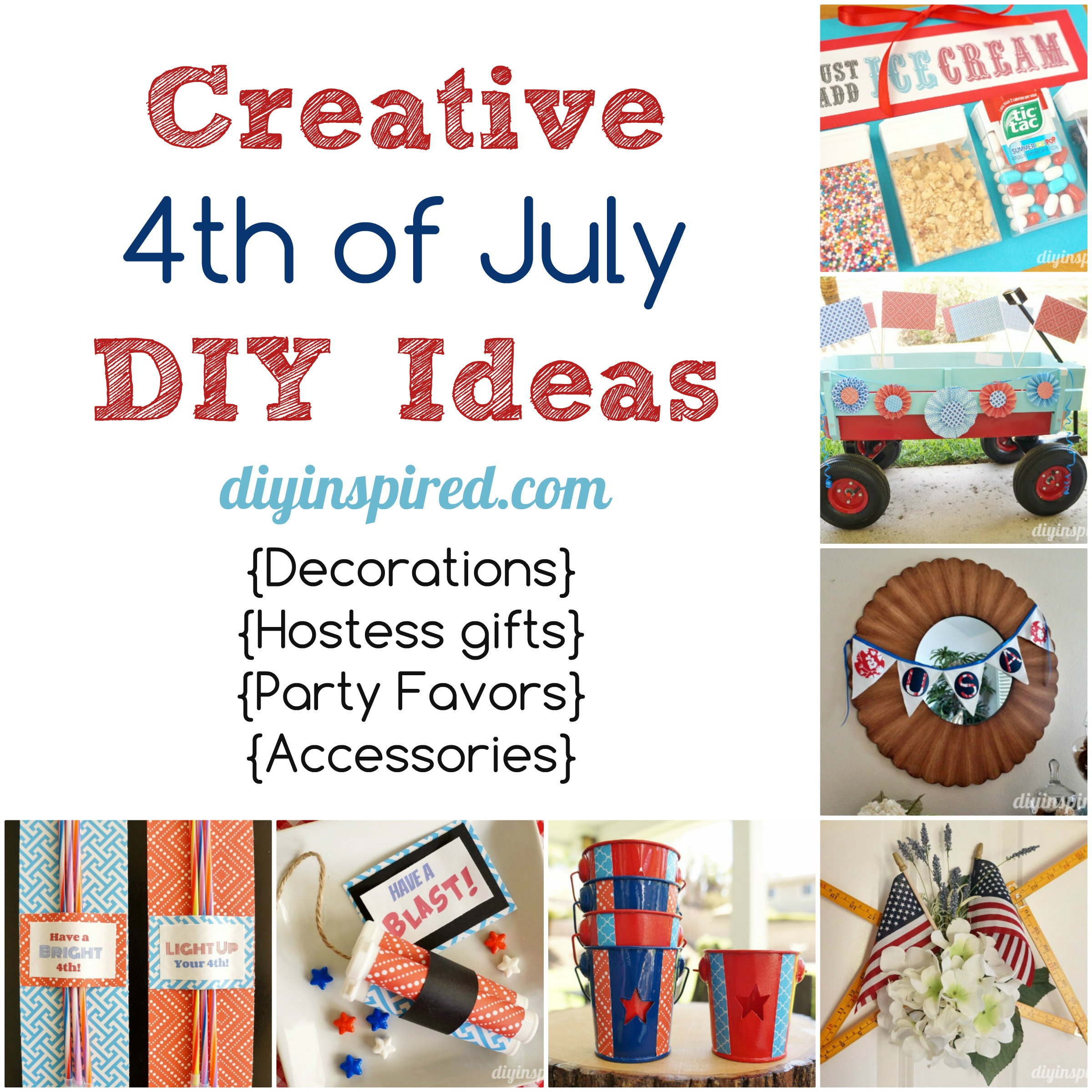 Creative Fourth of July DIY Ideas
