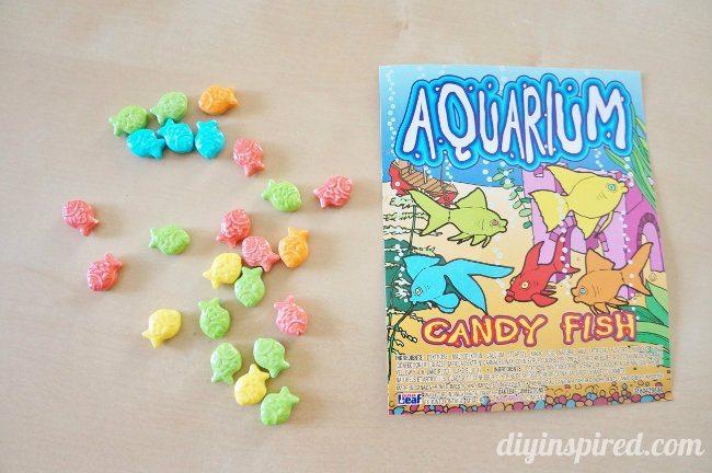 Summertime Aquarium Fish Candies