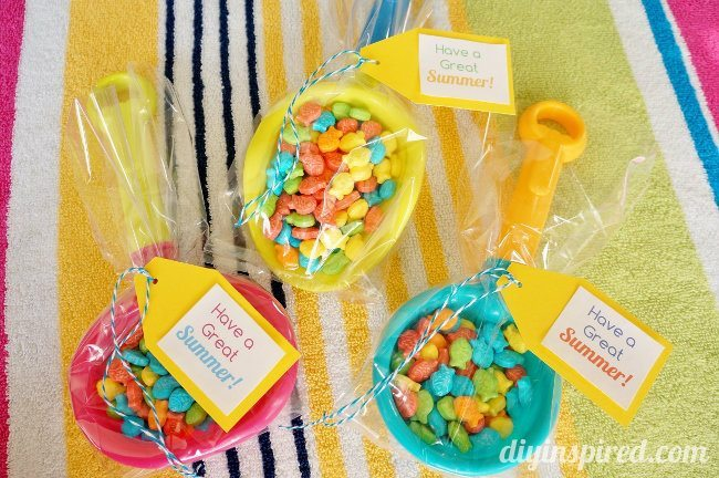 Summertime Party Favor Gift Idea and Printable