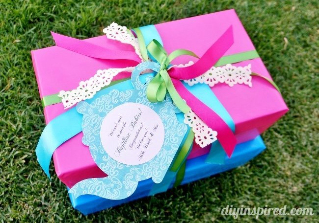Tea Party Themed Gift Wrapping (5)
