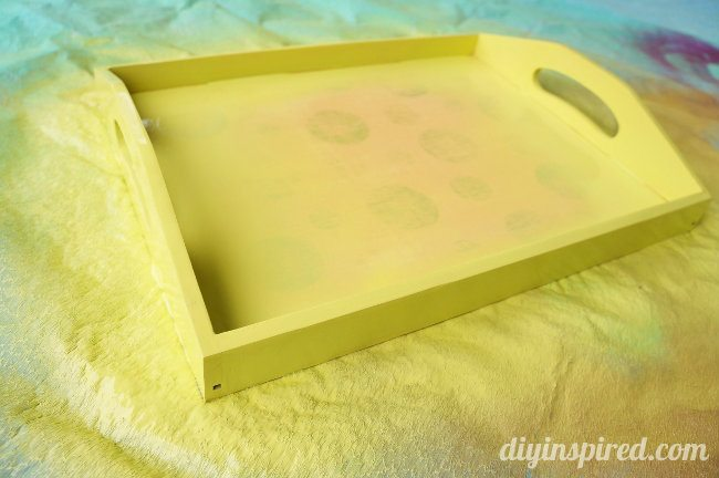 Trash to Treasure Easy Serving Tray