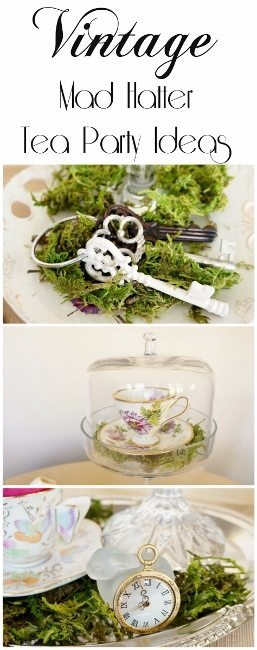 Budget Vintage Mad Hatter Tea Party Ideas Diy Inspired