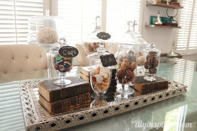 Apothecary Jar Collection Centerpiece