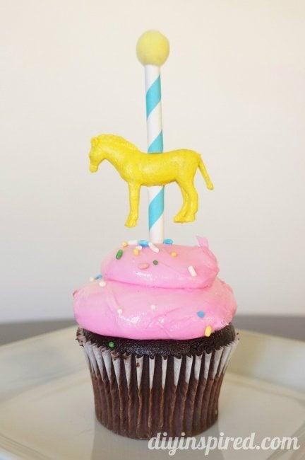 Carnival Cupcake Topper