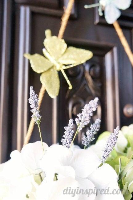 DIY Address Wreath