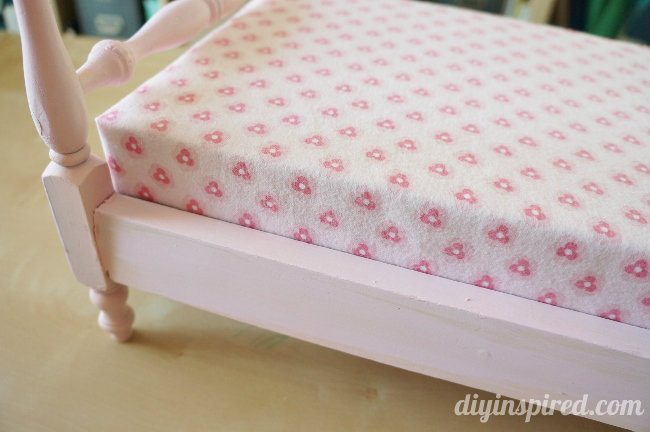 DIY Easy Doll Bedding
