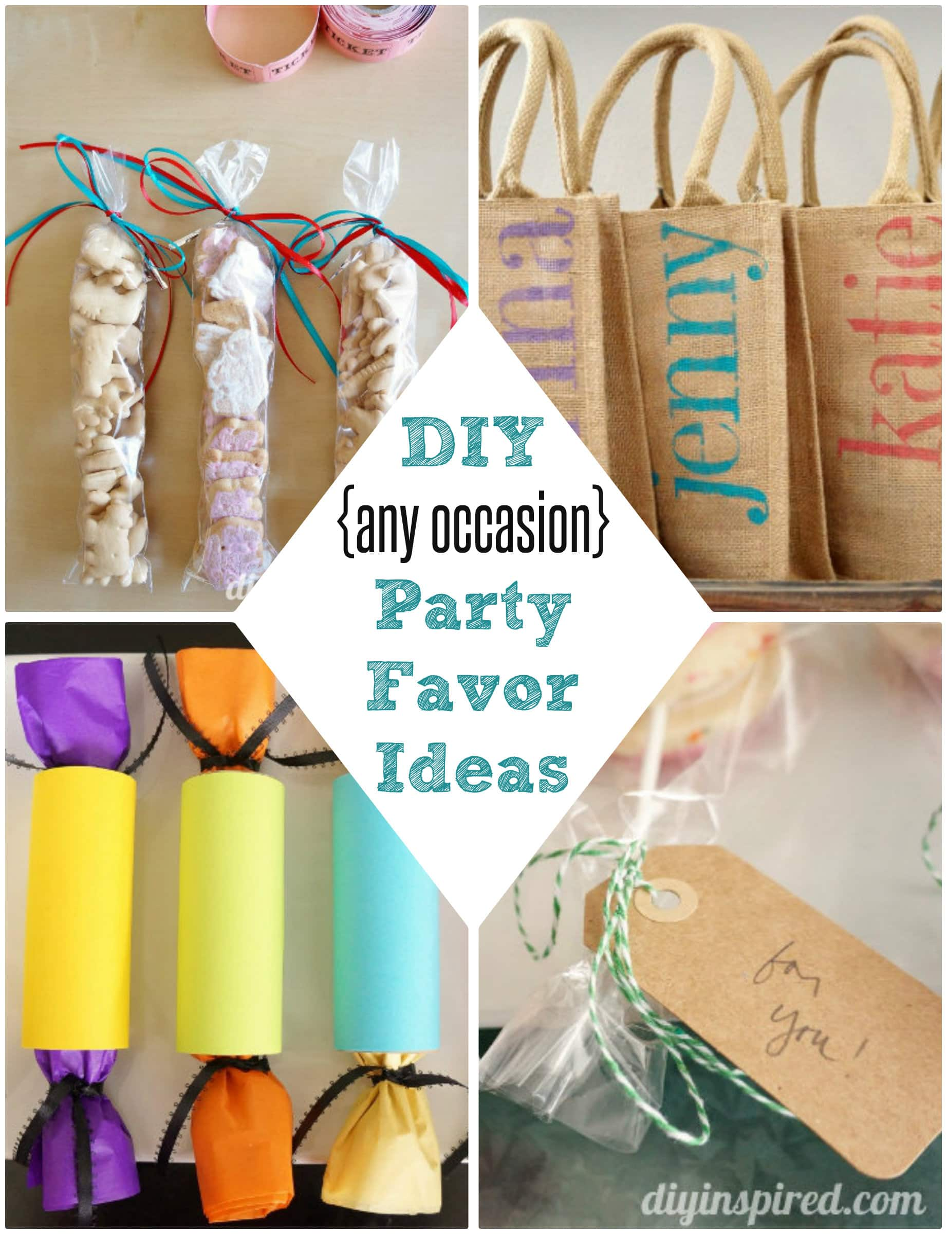 DIY Party Favor Ideas
